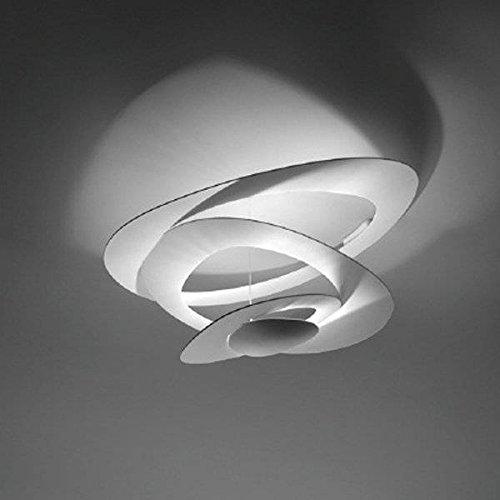 Artemide Pirce Mini LED Deckenlampe, 3000°K, Weiß