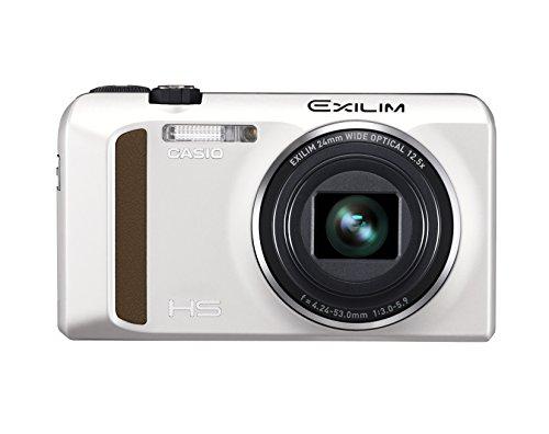 Casio EXILIM EX-ZR400 Digitalkamera (16,1 Megapixel, 7,6 cm (3 Zoll) Display, 25-Fach Multi SR Zoom, Triple Shot, HDR) weiß