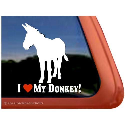 I Love My Miniature HorseHigh Quality Vinyl Horse Window Decal Sticker
