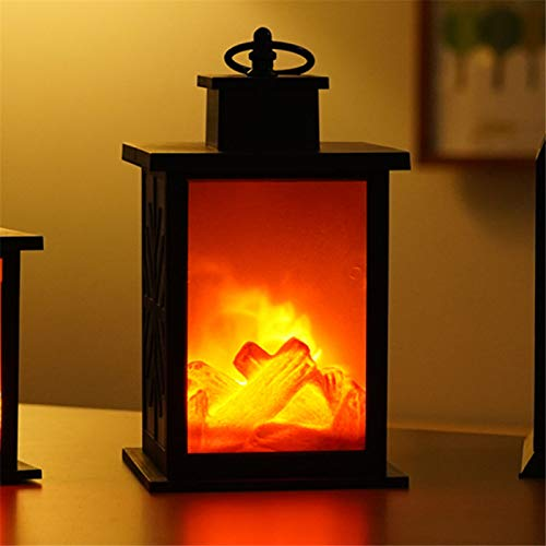 PPTS LED creative home fireplace lamp flame lamp modeling lamp Nordic decorative lamp Christmas crafts ornaments