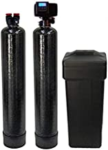 ABCwaters built Fleck 5600sxt Water Softener and Upflow Carbon Filtration - 48000 Capacity