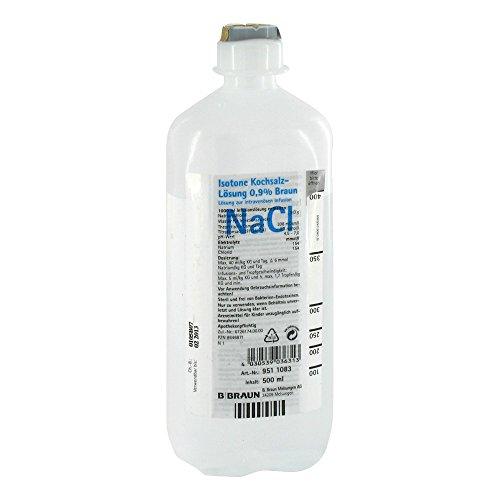 ISOTONE Kochsalz-Lösung 0,9% Braun Ecoflac Plus 500 ml