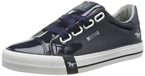 MUSTANG Damen 1313-301-820 Sneaker, Blau (Navy 820), 36 EU