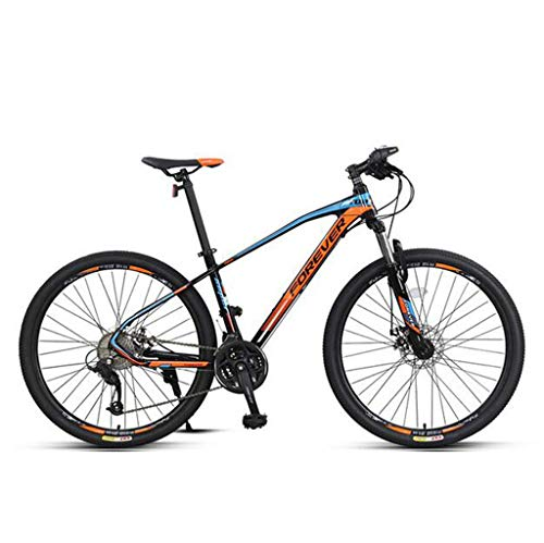 CHERRIESU Mountain Bike 26 inch 27-Speed Lightweight Mountain Bicycles Strong Alloy Frame with Disc brake Adult Mens/Womens,B