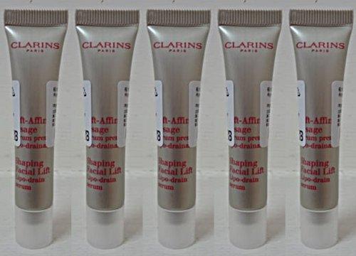 Clarins Shaping Facial Lift Lipo Drain Serum 50ml (10ml x 5pcs) - worldwide shipping