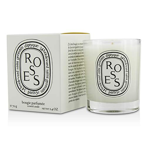 Scented Candle - Roses - 70g/2.4oz
