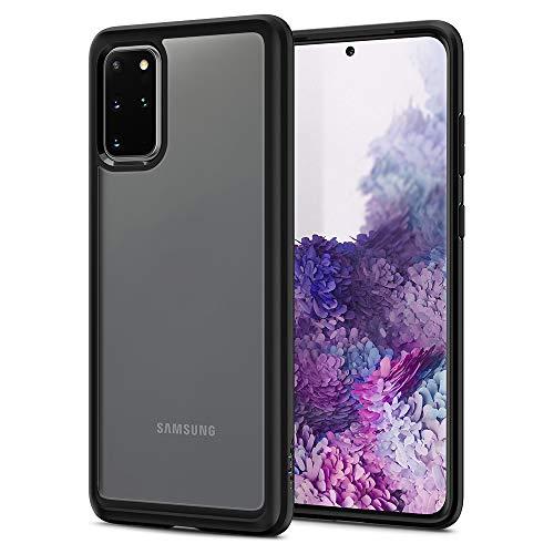 Spigen Ultra Hybrid Hülle Kompatibel mit Samsung Galaxy S20 Plus -Schwarz