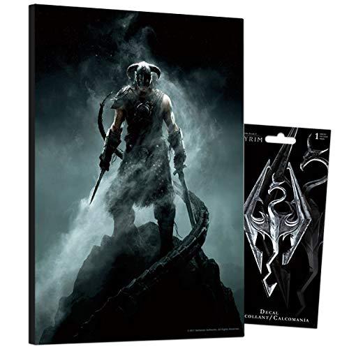 Skyrim Poster Video Game Bundle ~ 8