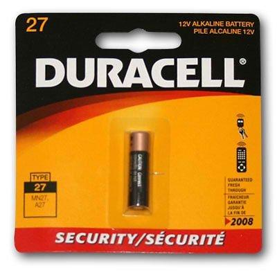 Duracell MN27 Alkaline 12V Battery G27A, A27, GP27A, AG27, L828
