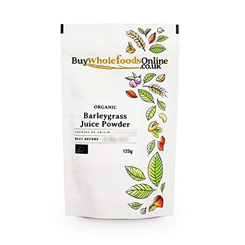 Organic Barleygrass Juice Powder 125g (Buy Whole Foods Online Ltd.)