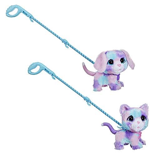 FurReal friends- furReal Walkalots - Cotton y Candy - Set Doble - Mascotas...