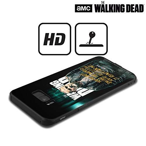 Head Case Designs Offizielle AMC The Walking Dead Negan Staffel 9 Zitate Schocksichere Matt Schwarze Handyhülle Hülle Huelle kompatibel mit Samsung Galaxy Note8 / Note 8