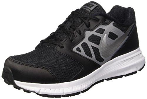 Nike Nike Downshifter 6 Unisex-Kinder Laufschuhe, schwarz - grau - silber, 11.5C