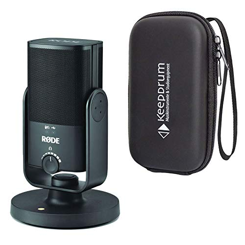 Rode NT-USB Mini Studio - Micrófono USB y funda blanda keepdrum