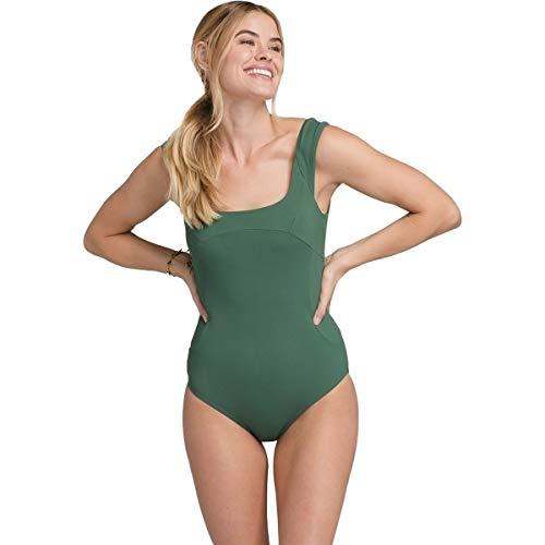 Prana Loren Damen Einteiler Smaragdgrün gerippt klein