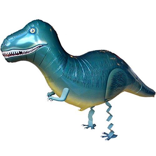 paduTec Airwalker Laufender Ballon Folienballon Geburtstag Dinosaurier T-Rex