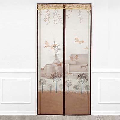 Sommerhaus Schlafzimmer hochwertige Magnetstreifen Anti-Moskito-Vorhänge Verschlüsselung Türen und Fenster Moskitonetz Magnetschirm Vorhänge A1 B100xH210