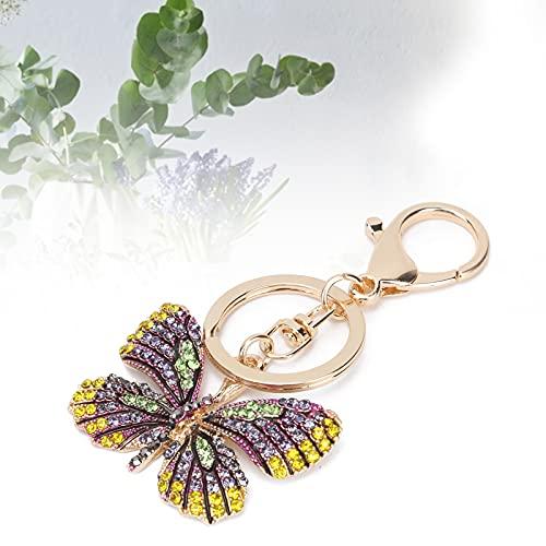 Decoración dominante, llavero elegante durable elegante hermoso para el llavero para el accesorio del bolso(verde)