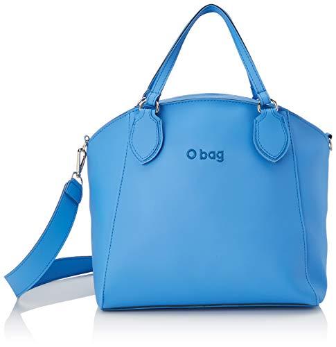 O bag Borsa Soft Mild E Melville, Pochette da Giorno Donna, Blu (Celeste), 30x16x30 cm (W x H x L)
