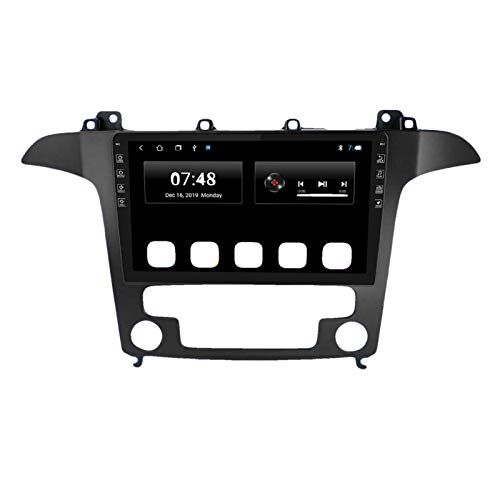 KCSAC 9 '' IPS CAR RADIO ANDROID 9.0 AUTO STEREO MULTIMEDIA FORTS PARA FORD S-MAX 2007 2008 GPS Navi Navi Navigation WiFi Car DVD Player (Color : T3L 2 32 WIFI 01)