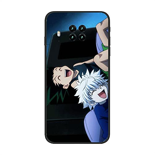 BAMANER Case for XIAOMI Redmi Note 9 Pro 5G/Mi 10T Lite, Hunter-HXH Killua-Zoldyck 7 Black TPU Matte Coque Fit Flexible Ultra Thin