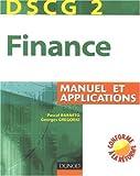 Finance DSCG 2 - Manuel et applications