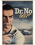LAIDAO Leinwand Vintage 007 Poster Pierce Brosnan
