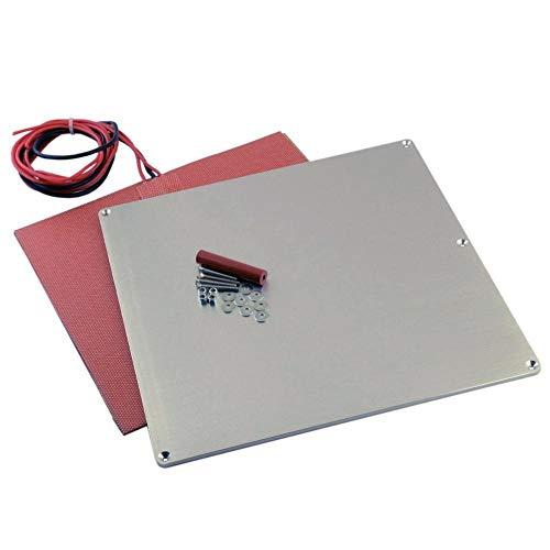 Nologo L-TAO-Pulley, 1set V2 Alluminio riscaldato Bed Costruire Piastra 24V 200W riscaldatore Completa Termistore Kit for Prusa I2 o Altro RepRap Aggiornamento