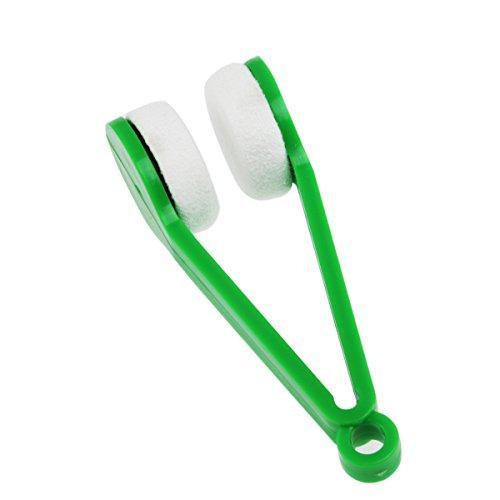 WINOMO Magische Brille Brillen Microfiber Cleaner Pinsel Reinigungs-Tool (Zufällige Farbe)