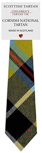 I Luv Ltd Garçon Tout Cravate en Laine Tissé et Fabriqué en Ecosse à Cornish National Tartan