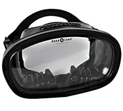 High-volume single lens masks gives an excellent field of view Available only in black, with black silicone skirt Silicone skirt delivers an improved fit and more secure seal against the skin Shatterproof, tempered glass lens suitable for diving and ...