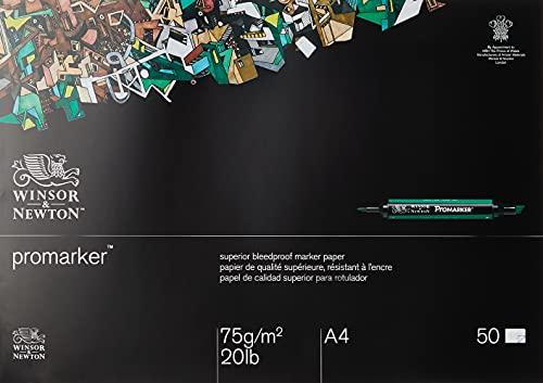 Winsor & Newton Blocco Carta Bleedproof A4 70G 50 Fogli