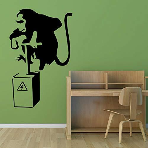 fancjj AFFE Wandtattoo Dynamit Lustige kreative Inneneinrichtung für Schlafzimmer Wohnzimmer Tür Fenster Vinyl Aufkleber abnehmbare Wandbild