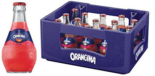 15 x Orangina Limonade botella de vidrio rouge 0,25 l en el caso original