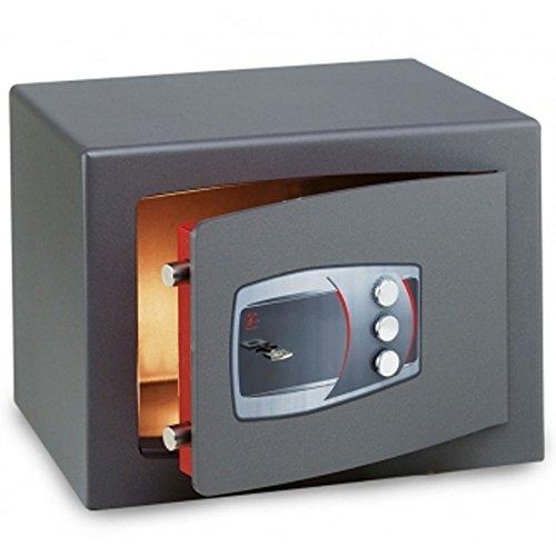 CASSAFORTE A MOBILE TECHNOMAX TECHNOFORT MOBY DIPLO CON CHIAVE E COMBINATORE-220X350X300 MM