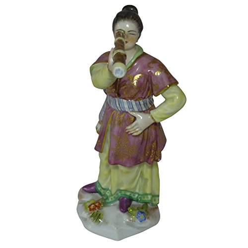 Meißen Porzellan chinesischen Dame mit Teleskop