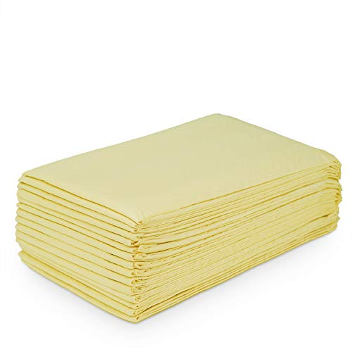 Courage Care Earth Friendly Bamboo Absorbent Disposable Underpads, Beige Incontinence Bed Pads 23x36 150 Ct