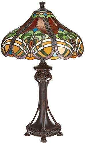 Dale Tiffany TT101033 Bellas Table Lamp, 16' x 16' x 25.5', Bronze