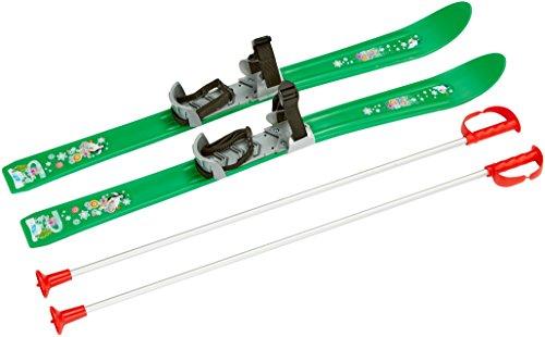 Plastkon Skis 2012 pour Enfant et bébé Vert Vert 90 cm