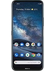 $440 » Nokia 8.3 5G and Clear Case | Android 10 | Unlocked Smartphone | Dual SIM | US Version | 8/128GB | 6.81-Inch Screen | 64MP Quad Camera | Polar Night