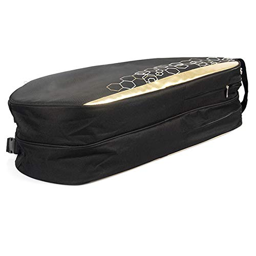 belupai Wasserdichte Tennis-Tasche, professionelle Schlägertasche, Sporttasche, Schläger-Rucksack, Badminton-Tasche, Zubehör für 6–12 Schläger