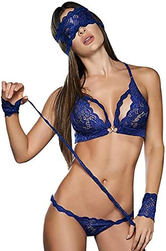 Mapal 8128 Sexy 3 4 Piece Lingerie Set for Women Ropa Interior De Mujer Panty Sosten product image