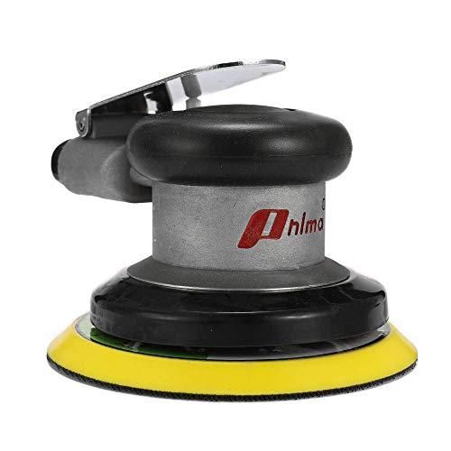 LILICEN LYJ Neumático de la máquina pulidora de 5 Pulgadas Redonda Pulida Herramienta de Mano de molienda Aire Sander Papel de Lija Orbital al Azar Grinder