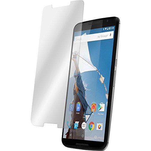 PhoneNatic 2 x Pellicola Protettiva Vetro Temperato Chiaro Compatibile con Google Nexus 6 Pellicole Protettive