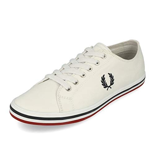 Fred Perry Kingston Twill White Navy 40