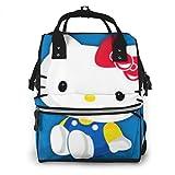 Bolsa de pañales de Hello Kitty, bolsa de bebé, multifunción, gran capacidad, mochila de viaje
