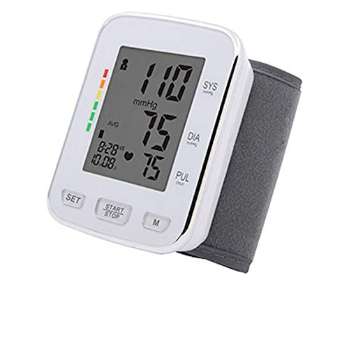 CURAmed Handgelenk-Blutdruckmessgerät, vollautomatische oszillometrische Messmethode, Warnanzeige bei Herzrhythmusstörungen