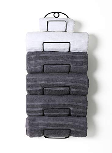 Soduku Towel Rack Wall Mounted Metal Wine Rack Towel Shelf