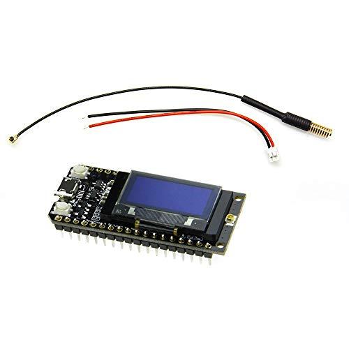 DollaTek LORA32 433Mhz ESP32 Bluetooth módulo WiFi con Pantalla OLED de 0.96 Pulgadas