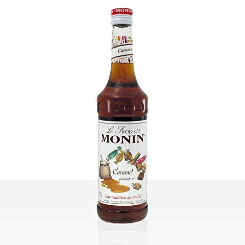 Monin Sirup Caramel 0,7l inkl. Dosierpumpe PiHaMi® Set
